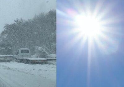 Метаморфоза на времето. От люта зима се обръща на топла пролет и 20 градуса