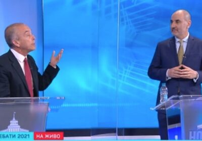 Мангъров атакува Цветанов в дебат: В най-добрия случай може да е директор на спортно училище