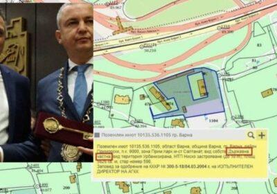 Бившият областен на ГЕРБ Стоян Пасев е продал още 6 декара от Морската градина във Варна